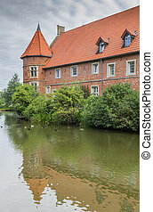 Historical mansion Haus Vogeding in Munster, Germany