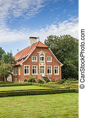 Historical mansion Haus Ruschhaus in Munster, Germany