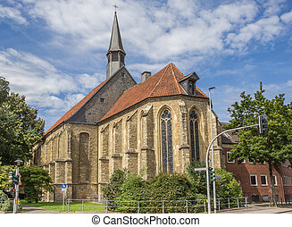 Apostel church in the historical center of Munster, Germany