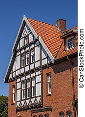 Half timbered house in the historical center of Bad...
