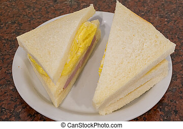 Ham and Egg Sandwich is one of the most popular and famous...