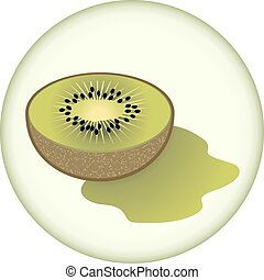 kiwi symbol - creative design of kiwi symbol