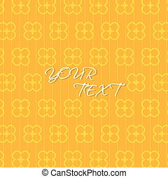 Abstract Orange Yellow Background Template Vector