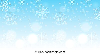 winter snowflake background - High quality original trendy...