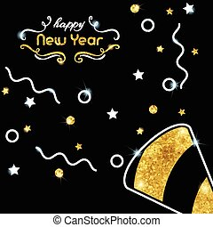 Sparkling New Year's Eve background