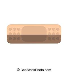 Isolated bandage design