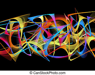 abstract graffiti - abstract colorful graffiti