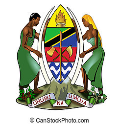 Tanzania Coat of Arms - Tanzania coat of arms, seal or...