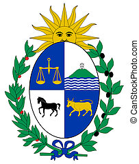 Uruguay Coat of Arms - Uruguay coat of arms, seal or...