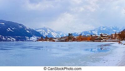 Mountains ski resort Zell am See - Austria - Mountains ski...