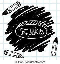 follow doodle