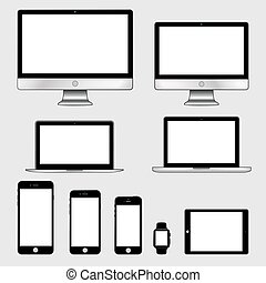 Electronic gadgets isolated