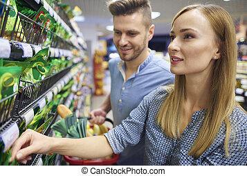 Weekend activities spent in supermarket