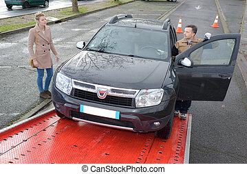 Auto, Schleppen