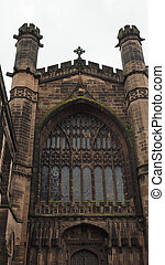 Chester Cathedral in Chester - vertical - Chester Anglican...