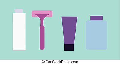 Elements for Boys Face Wash. Shaving Accessories.