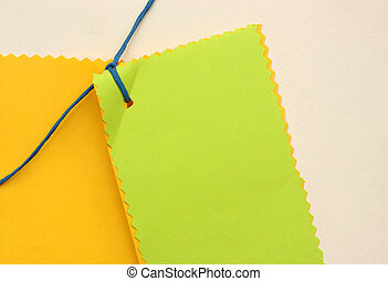 Note paper - Close up of note paper for background