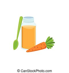 CarFresh Carrot Juice In Jar Supplemental Baby Food Products...