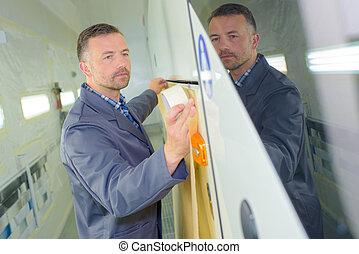 decorator doing his work
