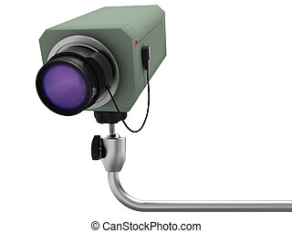 supervision - Pendant videocamera of supervision with an...