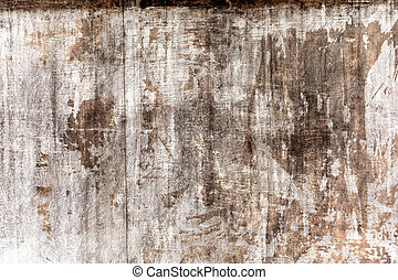 gray grungy wall with scratches and stains