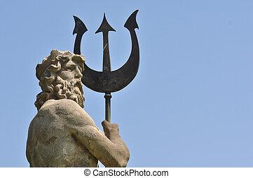 Poseidon, tritón, Atlantis