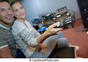 controlling the remote