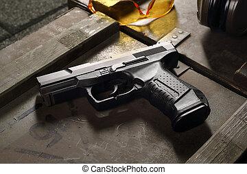 arma de fuego,  glock