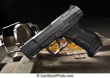 militar,  glock, pistola