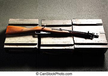 armas de fuego, Ciencia, uso