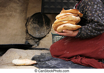 Bread making, Turkey