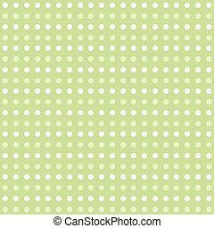 Vector pattern with white polka dots
