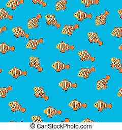 illustration of Ocellaris clownfish - Very high quality...