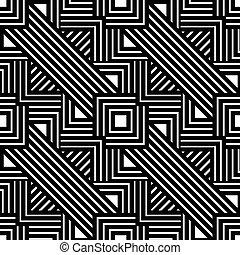 Abstract lines seamless pattern. Modern stylish geometric...
