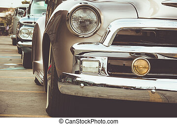 classic car - An Image of vintage car