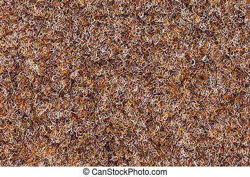 texture of carpet coverage of brown color with a shallow nap