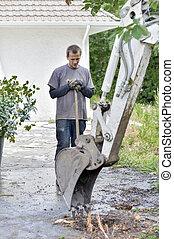 Renovating a garden