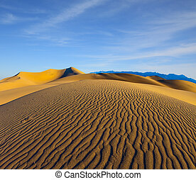 Early morning in Death Valley - Early morning, sunrise in...