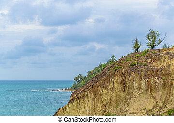 Tibau Do Sul Coast Brazil - Aerial view landscape scene of...