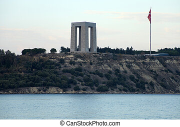 The Canakkale Martyrs Memorial, Gallipoli