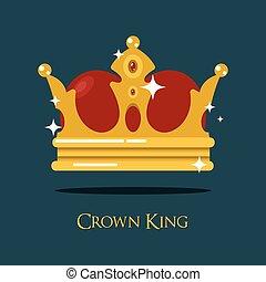 Blinking or shining pope crown, tiara - Blinking or shining...