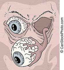 imaginative monster eye