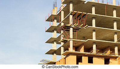 building work - the city develop and build new homes as...