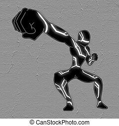 Hero punch
