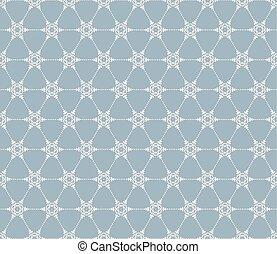 Snowflakes seamless pattern. EPS 10 - Snowflakes seamless...