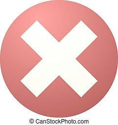 error symbol - creative design of error symbol