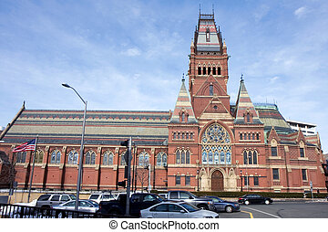 Memorial hall of Harvard university