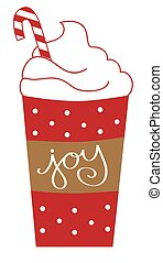 Joy Peppermint Latte
