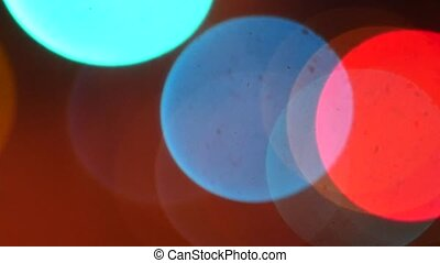 abstract blur bokeh - Abstract blurry bokeh background...