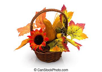 Fall flower arrangement - A colorful fall flower arrangement...